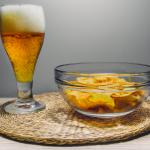 alcohol food intake snacks beer