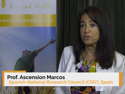 Interview of Dr. Ascension Marcos at the 9th Beer and Health Symposium