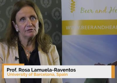 Interview of Dr. Rosa Lamuela-Raventos at the 9th Beer and Health Symposium