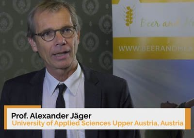 Interview of Dr. Alexander Jäger at the 9th Beer and Health Symposium