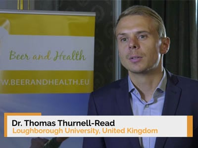 Interview of Dr. Thomas Thurnell-Read at the 9th Beer and Health Symposium