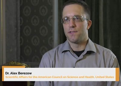 Interview of Dr. Alex Berezow at the 9th Beer and Health Symposium