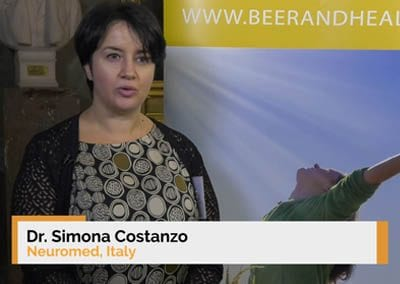 Interview of Dr. Simona Costanzo at the 9th Beer and Health Symposium