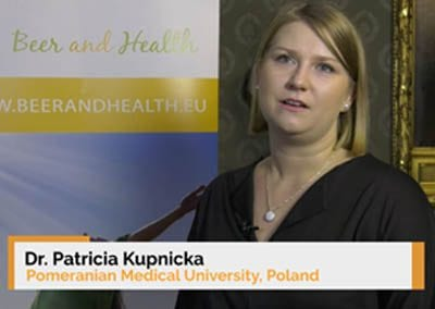 Interview of Dr. Patricia Kupnicka at the 9th Beer and Health Symposium