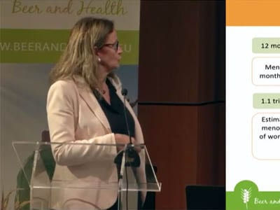 Dr. Lamuela-Raventós – Effects of moderate beer consumption on osteoporosis in postmenopausal women