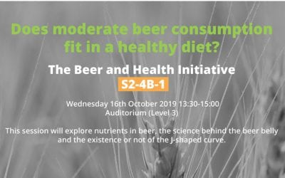 Beer & Health at the 13th European Nutrition Conference!