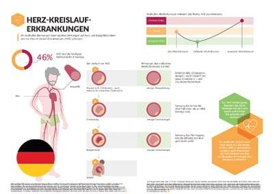 Infographic: Cardiovascular Disease (German Translation)